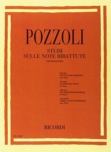 Studi Sulle Note Ribattute Per Pianoforte