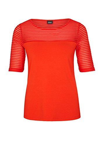 s.Oliver BLACK LABEL Damen T-Shirt Rot