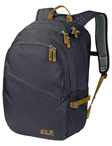 Jack Wolfskin Dayton Alltag Daypack Rucksack, Ebony, ONE Size