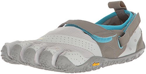 Vibram FiveFingers 18W7303 V-Aqua, Aqua Schuhe Damen, Grau (Grey/Blue), 39 EU