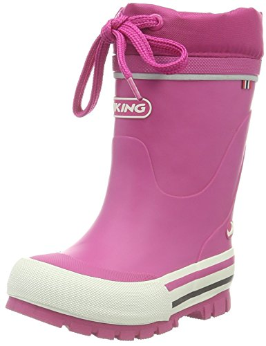 Viking Unisex-Kinder Jolly Winter Gummistiefel, Pink (Fuchsia 17), 29 EU