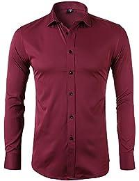 Amazon.es  Rojo - Camisas   Camisetas 6cc3f8e65c650