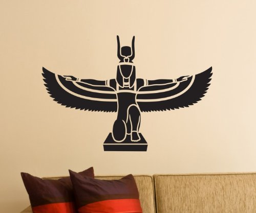 Pegatinas De Pared, Adhesivo Isis Egipto Diosa Tatoo Decoración De Pared Pegatina 1M378