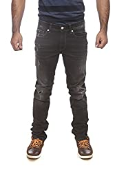 Pepe Jeans Mens Black Slim Fit Jeans (Vapour Fit) (34)