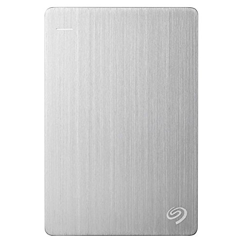 Seagate Backup Plus Ultra Slim externe tragbare Festplatte USB 3.0, PC & MAC & PS4 - recertified, Kapazität:2.000GB (2TB), Farbe:Platin (Rescue Edition) (Usb Rescue Drive)