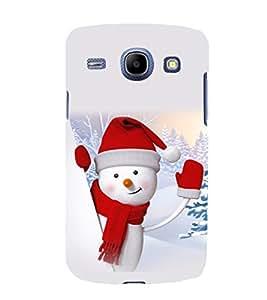 printtech Snowman Christmas Back Case Cover for Samsung Galaxy J1 / Samsung Galaxy J1 J100F