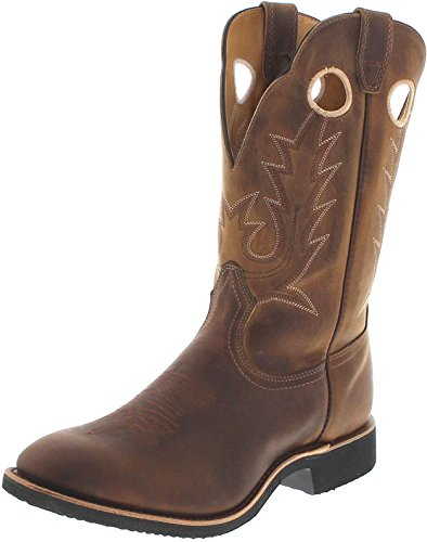 FB Fashion Boots Boulet 5222 Golden/Herren Westernreitstiefel Braun/Reitstiefel/Herrenstiefel/Western Riding Boot, Groesse:41 (8 US) (Boots Männer Western Boulet)