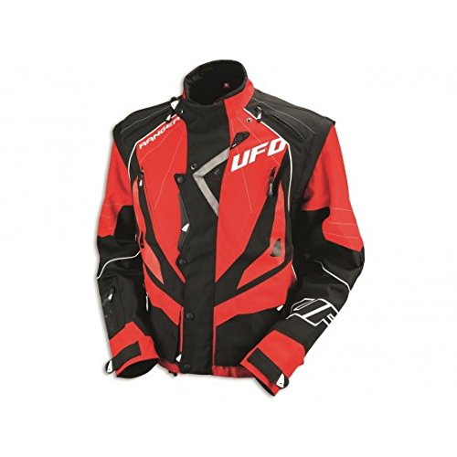 433215 X L - Giacca UFO Enduro Rosso T. XL