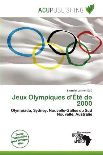 Jeux Olympiques D' T de 2000