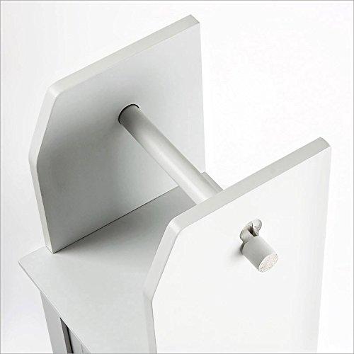 Homestyle 46064 Klo Papier Halter, Weiß