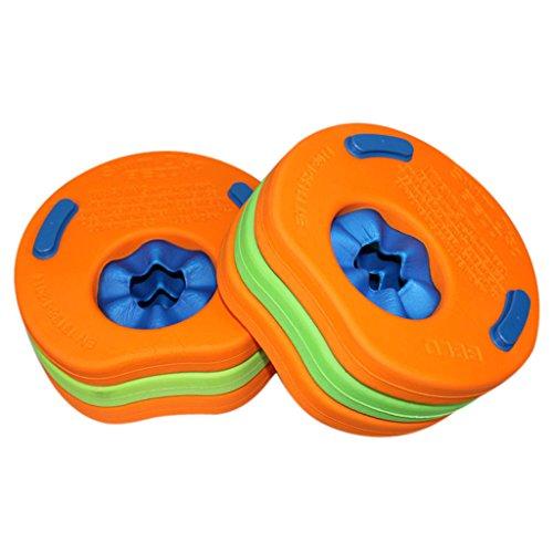 Skysper - 8pcs Manguitos de natación para niños, hechos de espuma, varios colores Discos Flotantes