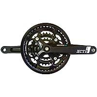 SR Suntour CW14 XCT 312 PB Crank Set square taper 22//32//42 teeth 7//8-speed black 2016 Chainsets Mountain bike