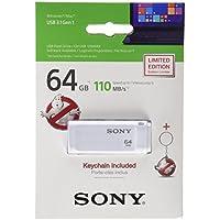 Sony USB 3.0, 64GB 64GB USB 3.0(3.1Gen 1) Typ A weiß Player USB Flash–Leser USB Flash (64GB, 64GB, USB 3.0(3.1Gen 1), Typ A, Cap, weiß)