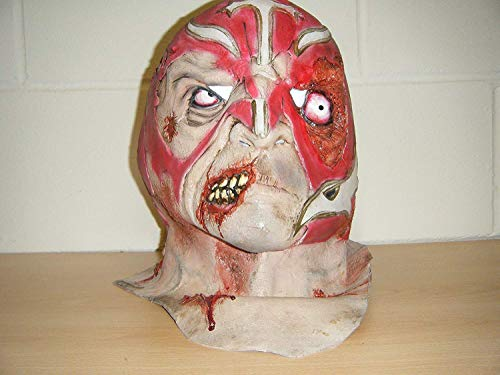 WRESTLING MASKS UK Mexikanischer Wrestler Zombie Horror Halloween Voller Kopf Kostüm Maske (Halloween-masken Uk Kopf Vollen)