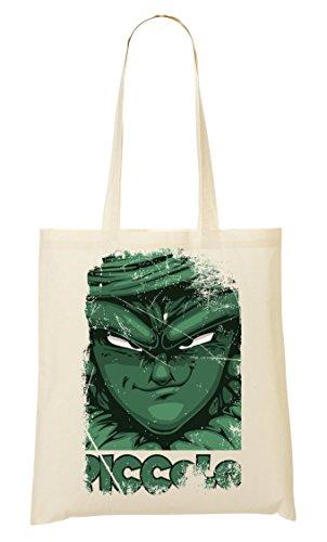 Crafty | Dragon Ball | Dbz | Piccolo | Manga | Anime Series | Super Hero | Power | Swag | Cool | Like A | Dope Tragetasche Einkaufstasche