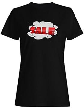 Nueva historieta de la historieta de los cómics de la venta camiseta de las mujeres g502f