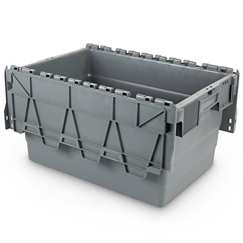 Mehrwegbehälter 600x400x320, mit Klappdeckel, 60 Liter - 3