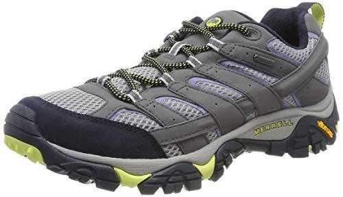 Merrell Moab 2 GTX, Zapatillas de Senderismo para Mujer, Azul (Navy Morning), 40.5 EU