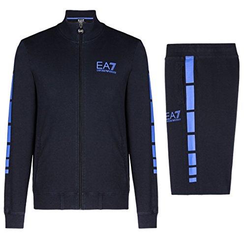Emporio Armani EA7 Herren Jumpsuit fashion Anzug Sweatshirt blu EU M (UK 38) 6XPV59 PJ05Z 1578