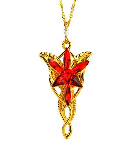 l Anhänger Herr der Ringe Arwen EVENSTAR Halskette ()