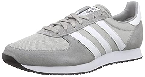 adidas Zx Racer, Baskets Basses Homme, Gris (Mgh Solid Grey/Ftwr White/Core Black), 42 2/3 EU