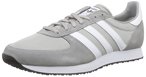 adidas Zx Racer, Baskets Basses Homme Gris (Mgh Solid Grey/Ftwr White/Core Black)