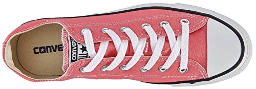 Converse All Star Ox Canvas, Baskets Basses Femme Orange - Coral