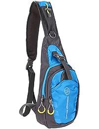 Generic 2016 Nylon Waterproof Men Female Chest Bag Functional Waist Bag Outdoor Sport Travel Shoulder Sling Backpack...