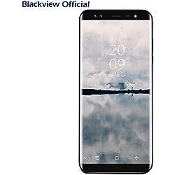 "Smartphone ohne Vertrag, Blackview S8(18:9) 5.7"" HD+ Display 4G Dual SIM Smartphones, 4GB RAM + 64GB ROM, 4 SONY Kameras(13MP + 13MP), 3180mAh Android 7.0 mit Fingerprintsensor ID Handys"