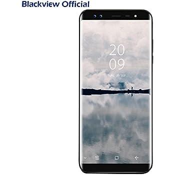 Smartphone Blackview S8 Android 7.0 (proporzione 18:9) 5.7 pollici HD+ Display con SONY 4 fotocamere 13MP+0.3MP, 4GB RAM 64GB ROM con Dual SIM 4G LTE, 3180mAh battery, OTG/GPS/Fingerprint ID, nero
