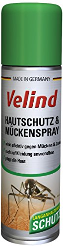 Velind Hautschutz und Mückenspray, 4er Pack (4 x 200 ml)