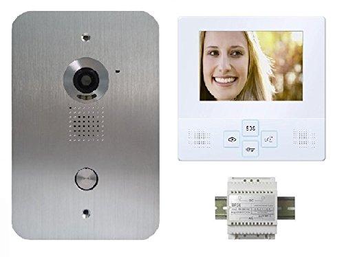 4 Zoll LCD Monitor Türsprechanlage Video Gegensprechanlage 4in Lcd