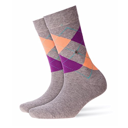 Burlington Damen Socken Queen 4er Pack, Größe:36-41;Farbe:Light Grey (3402)