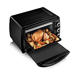 Tower Mini Oven and Grill, 23 L, 1500 W, Black