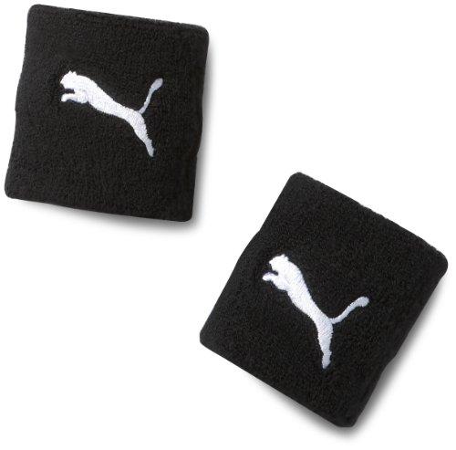 PUMA Band Cat Wristband, Black/White, One Size, 051156 01