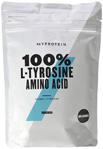 Myprotein L-Tyrosine, 1er Pack (1 x 500 g) - Bcaa 500 Mg 120 Kapseln
