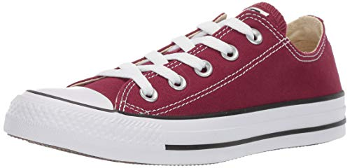 CONVERSE Chuck Taylor All Star Seasonal Ox, Unisex-Erwachsene Sneakers, Rot (Bordeaux), 39 EU