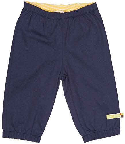 loud + proud Unisex Baby Regenhose Wasserabweisende Hose Blau (Midnight Mi), 104 (Herstellergröße: 98/104)