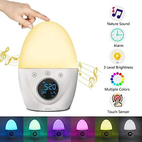 Sleepy Alarm Clock Wake Up Lamp Molangfushi Multi-función