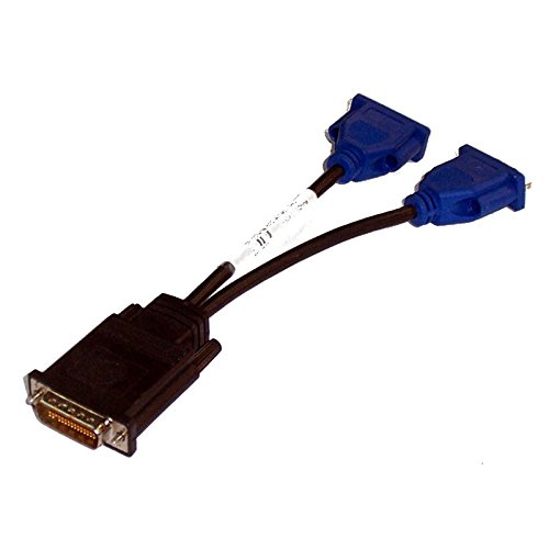 Dell Dms-59 (Kabel Adapter Verdoppler Dell DMS-59 auf 2 x VGA 0 G9438 G9438 14 cm)