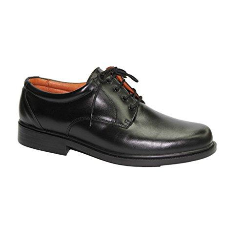Sehr bequemer Schuh glatte Klinge Clayan schwarz Schwarz