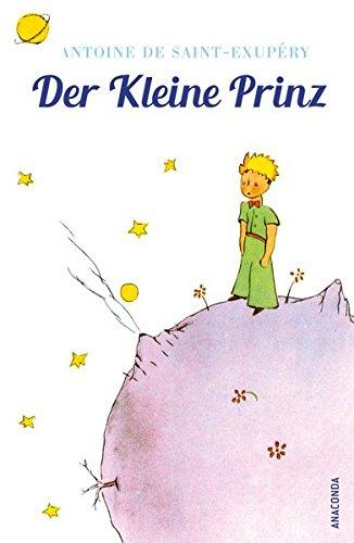 Buchcover Der Kleine Prinz (Mit den farbigen Zeichnungen des Verfassers) brosch.
