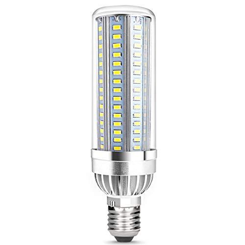 E27 LED Lampe Mais Licht 50W Ersatz 500W Glühlampe Mit E40 Lampensockel 5500LM Warmweiß 2700K 360° Abstrahlwinkel LED Leuchtmittel Energiesparlampe Super Hell für Großflächige Beleuchtung -