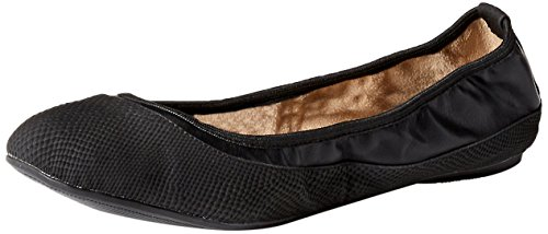 Butterfly Twists Hannah - Ballerine donna, colore nero (black snake), taglia 38 EU (5 UK)
