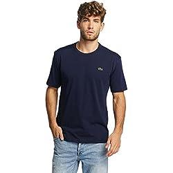 Lacoste TH7618, Camiseta para Hombre, Azul (Marine), X-Large (Talla del fabricante: 6)