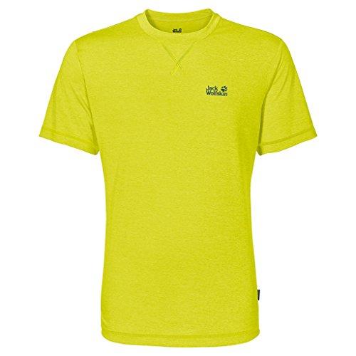 Jack Wolfskin Herren Shirt Crosstrail T lime