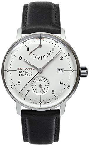 Junkers-Reloj de Pulsera analógico automático para Hombre Acero Inoxidable 6060M5