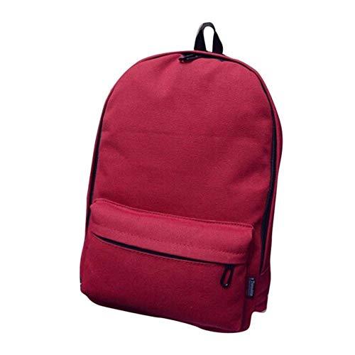 Fat Mashroom Fashion Schultaschen Frauen Casual Übergroße Leinwand Rucksack Unisex Damen Umhängetasche Mädchen Rucksack Reisetasche Mochilas # Z, Rot, China -