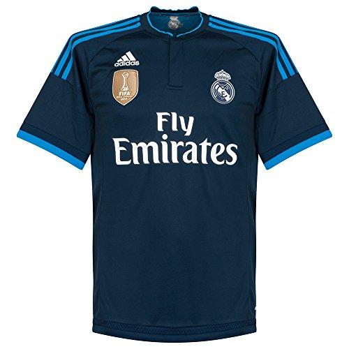 Adidas Real 3 JSY WC - Camiseta para Hombre, Color Azul Marino/Azul / Blanco, Talla XL