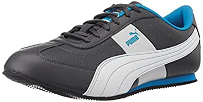 Puma Men's OtiseDP Dark Shadow and Cyan Blue Sneakers - 7 UK/India (40.5 EU)